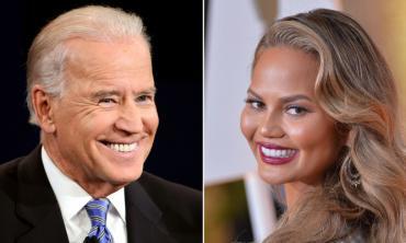 Joe Biden grants Chrissy Teigen her wish as she becomes the only celebrity he follows