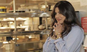 Priyanka Chopra visits her restaurant Sona for the first time