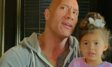 Dwayne Johnson's daughter Tia has a hilarious reaction to the 'Black Adam' teaser